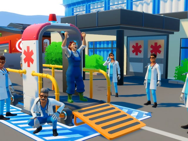Nintendo Just Released A Wacky Ambulance Game