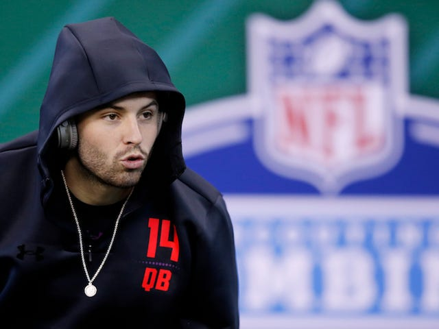 Baker Mayfield Turns Colin Cowherd Into A Punching Bag