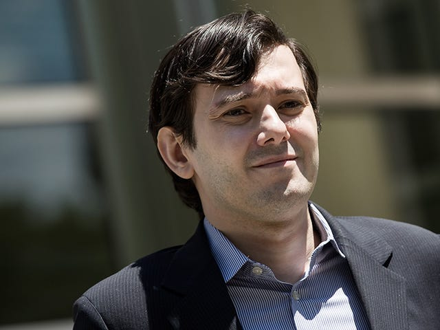 Martin Shkreli Suspended From Twitter Following Allegations of Harassment [Updated]