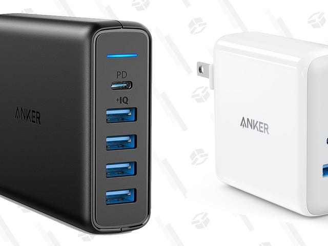 Two of Anker's Powerful USB-C Power Delivery Chargers Are On Sale This Week