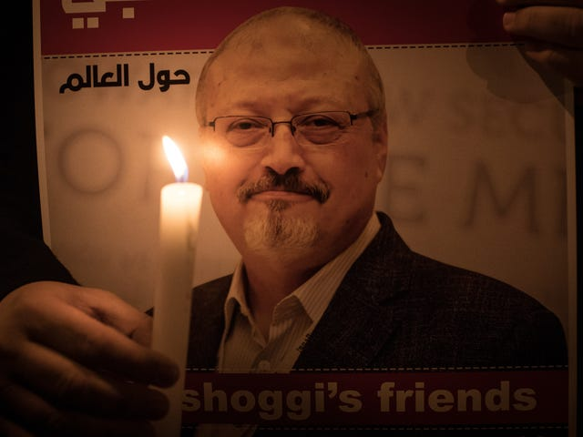 The United States of Saudi Arabia: Trump Doesn't Care About Journalist Jamal Khashoggi's Death Because He's Not a White Man