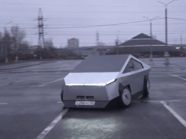 Εάν δεν μπορείτε να περιμένετε το Cybertruck της Tesla, μπορείτε να λάβετε αυτό το ρωσικό αντίγραφο τώρα
