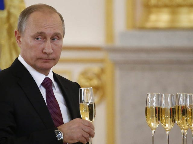 Vladimir Putin Congratulates Donald Trump Via Telegram