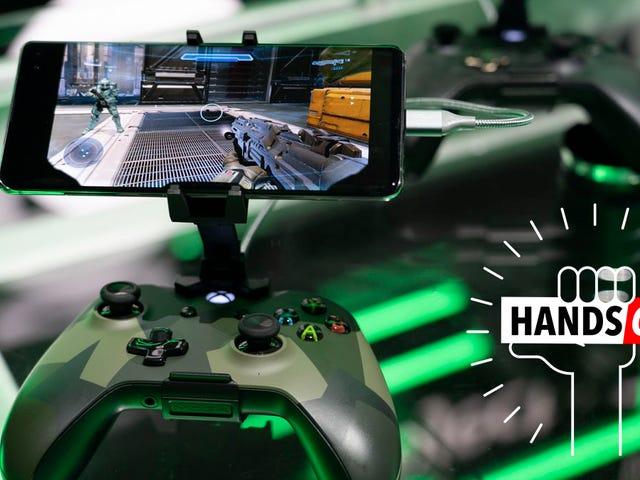 Tôi đã chạm vào xCloud: Một cái nhìn cực kỳ sớm về tầm nhìn của Microsoft cho tương lai của trò chơi