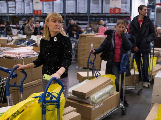 IKEA Smells Like Meatballs and Broken Relationships