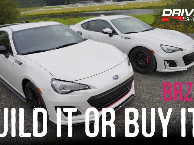 Subaru BRZ tS: build it or buy it?
