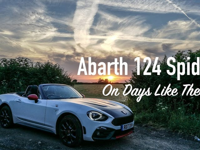 On Days Like These - An Italian Homage In An Abarth 124 Spider