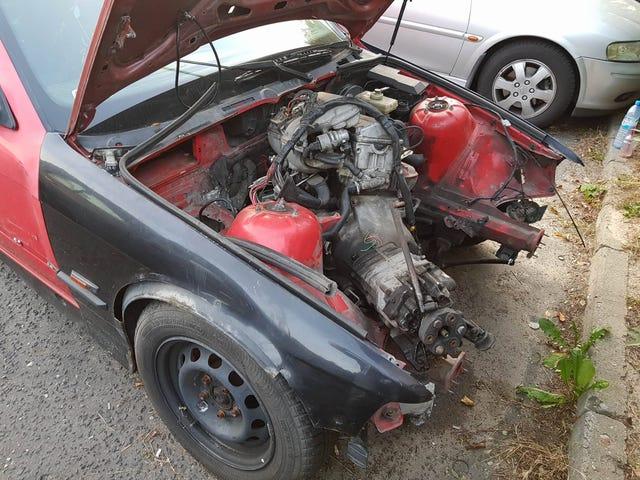 OK、エンジンの交換は完了