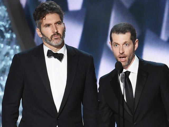 Otro final impactante: el dúo de Game Of Thrones David Benioff y DB Weiss salen de la trilogía de Star Wars