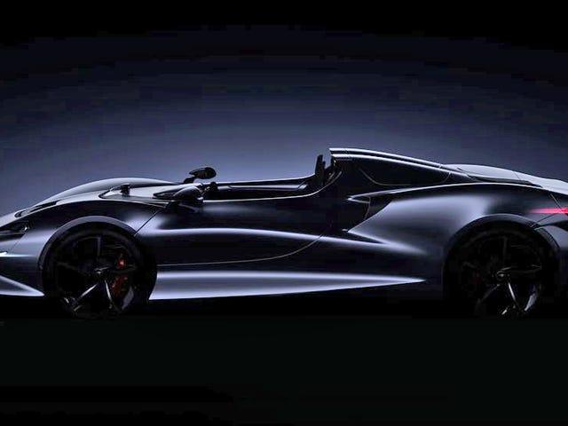 这款阴暗的两座跑车将是迈凯轮迄今为止最轻的汽车