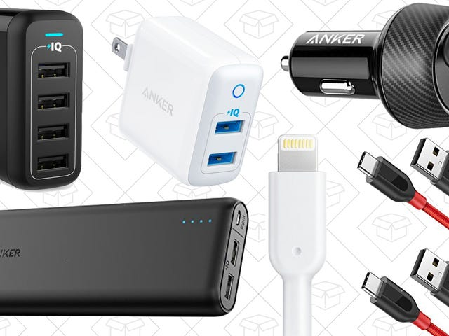 Stuff Every Stocking With Discounted Anker Charging Gear