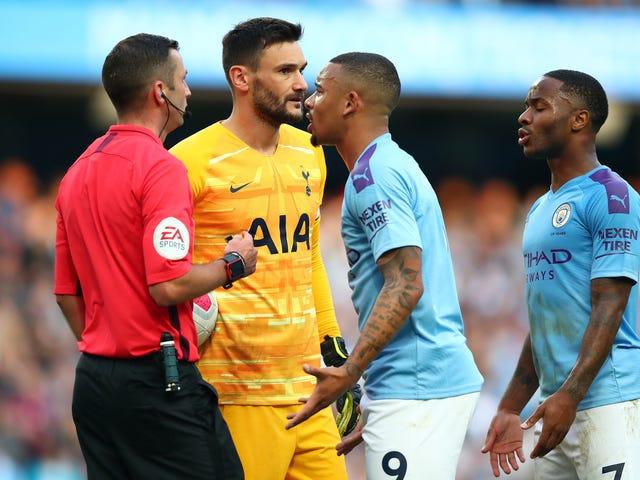 VAR mais uma vez rouba um gol de vitória do Manchester City