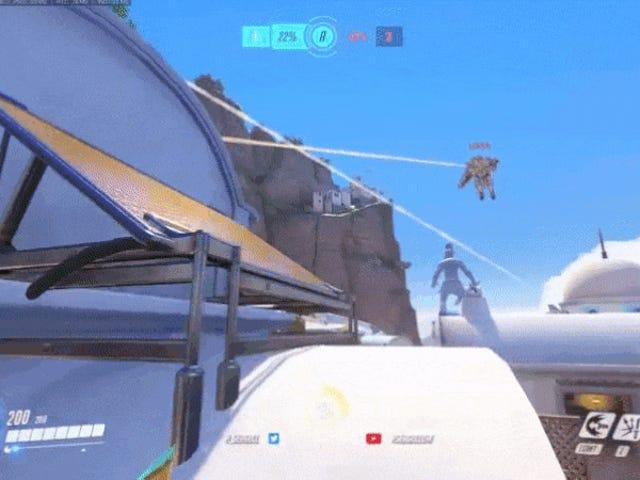 Berikut adalah klip dari pemain Overwatch yang paling populer, Seagull, benar-benar merobek-robek tim sementara b