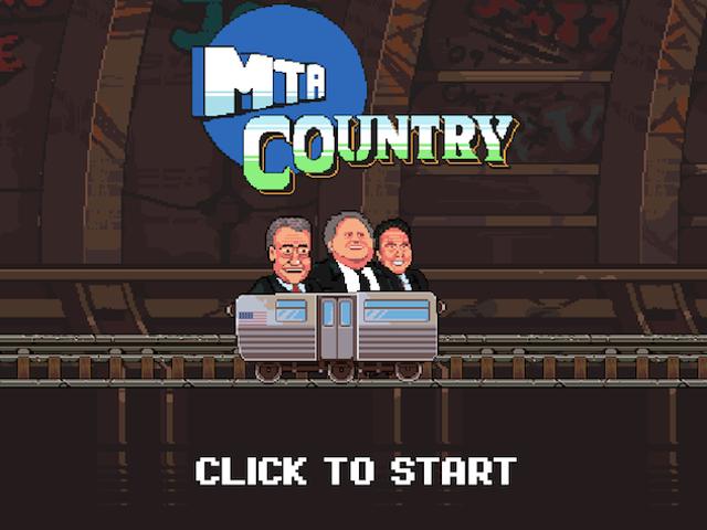 Alguien ha hecho un videojuego en línea sobre todos los problemas desastrosos del metro de Nueva York