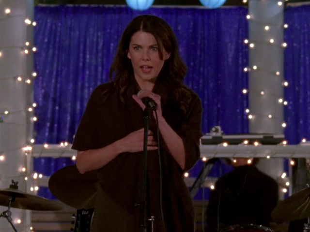 At this point in Gilmore Girls, even fun parties end in disaster