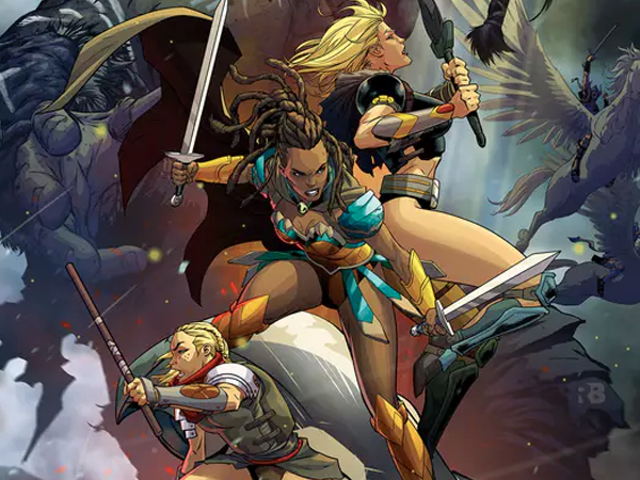 New DC Comic Is Basically Jason and the Argonauts But With Amazons