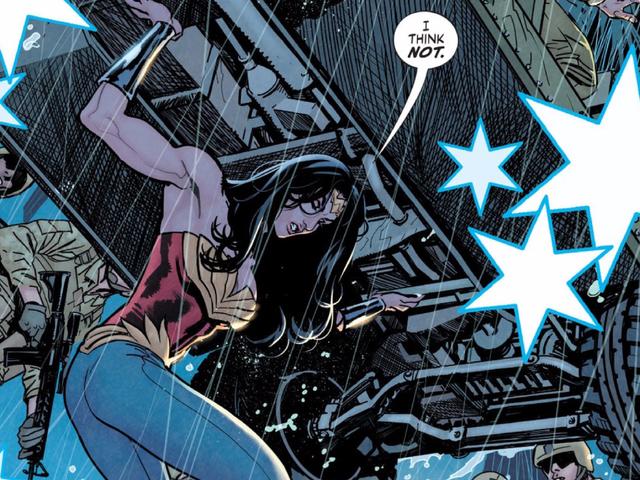 One Of Superman and Batman's Best Writers Flops Writing Wonder Woman