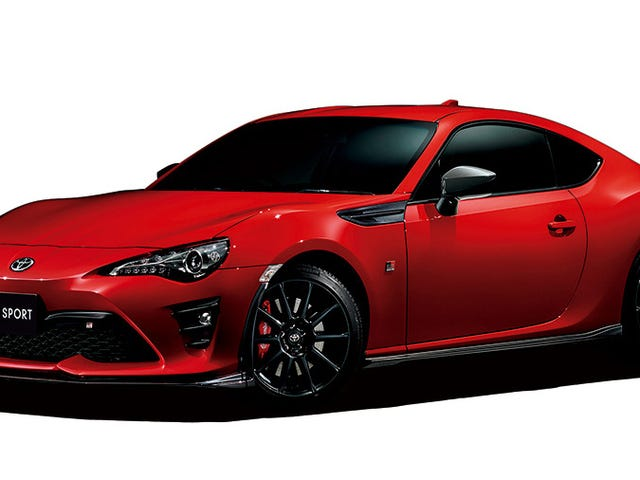 The First Of Toyota's New GR Performance Line Is Still Sort Of Boring