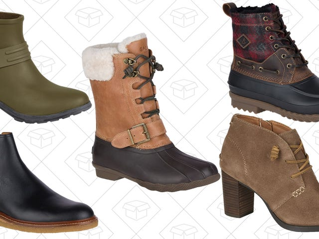 Handle Whatever The Rest of Winter Throws At You With Sperry's Boot Sale