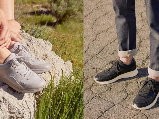 Everlane Brought Sustainable Chic to the Dad Sneaker Space