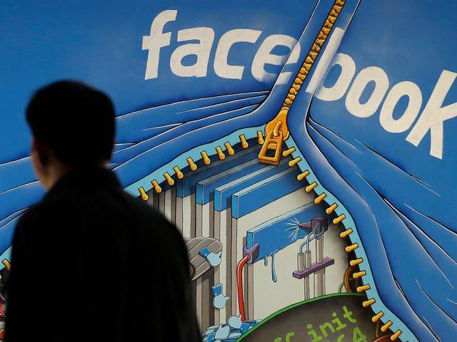 Facebook on vain satunnaisesti pyytänyt uusia käyttäjiä heidän sähköpostiosoitteisiinsa