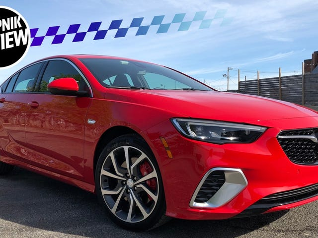 The 2018 Buick Regal GS Is Surprisingly Great