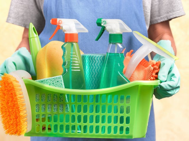Go ahead, be lazy today: Cleaning products may be as harmful to your lungs as cigarettes