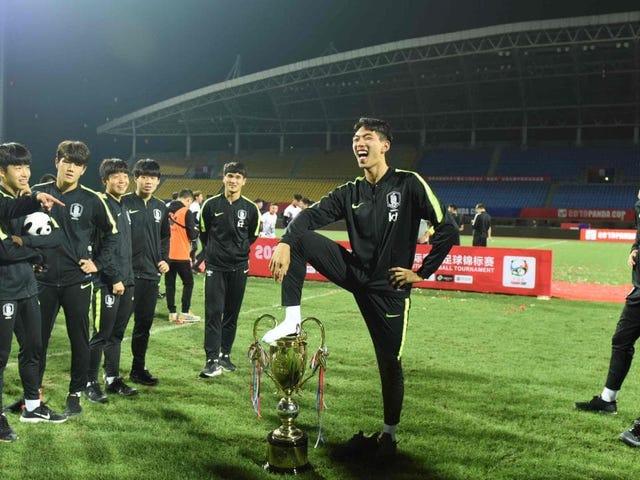 ทีมเกาหลีใต้ U18 ขอโทษที่แกล้งปัสสาวะในถ้วยรางวัลแพนด้าคัพทำให้แฟน ๆ ชาวจีนเดือดดาล