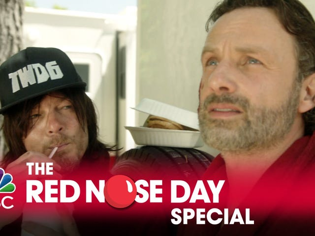 Norman Reedus and Andrew Lincoln Spoof the Star Wars Holiday Special For Red Nose Day