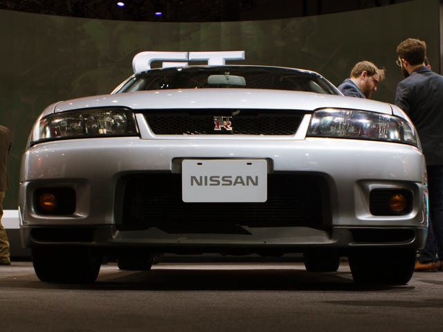 What Is This Secret Switch In This Classic Nissan GT-R?