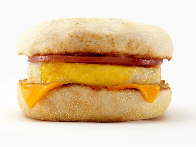 Start your week with a free Egg McMuffin