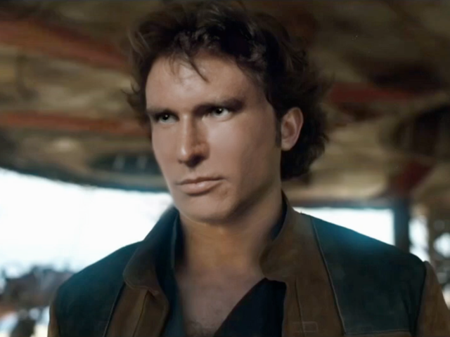 Someone Inserted Harrison Ford's Face Into a Solo Trailer and It Is Wrong Wrong Wrong