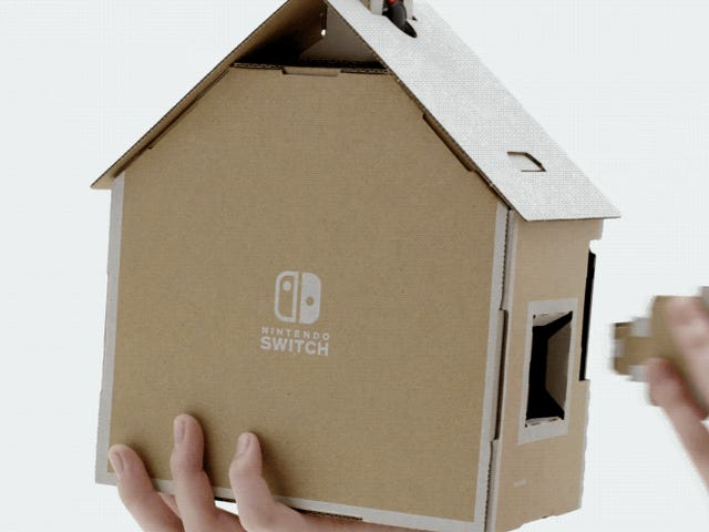 Nintendo's Latest Nostalgia Gimmick Is $70 Pieces of Cardboard and I Think I Hate It