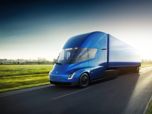 Tesla Is Collaborating With Pepsi And UPS To Build Electric Semi 'Megachargers': Report