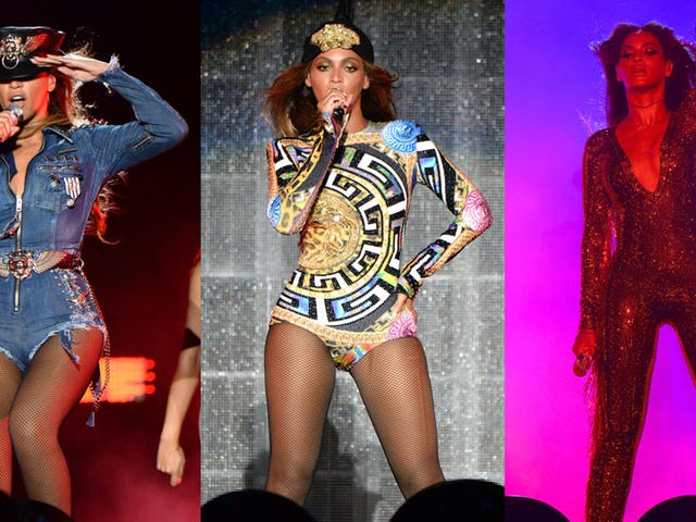 Beyoncé's 'On the Run' Tour Costumes, Starring Beyoncé's Thighs