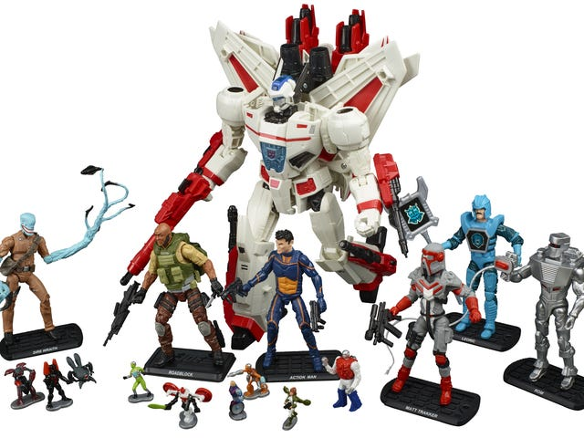 Hasbro's Latest Comic-Con Exclusive Is Like a Hall of Fame for Awesome '80s Toys