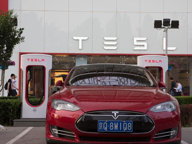 Tesla Plans To Build China Plant With Capacity To Make 500,000 Vehicles Annually (Updated)