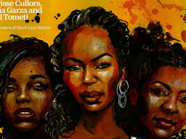 Black Lives Matter Founders Grace Cover of Time Edição 100 Mulheres do Ano