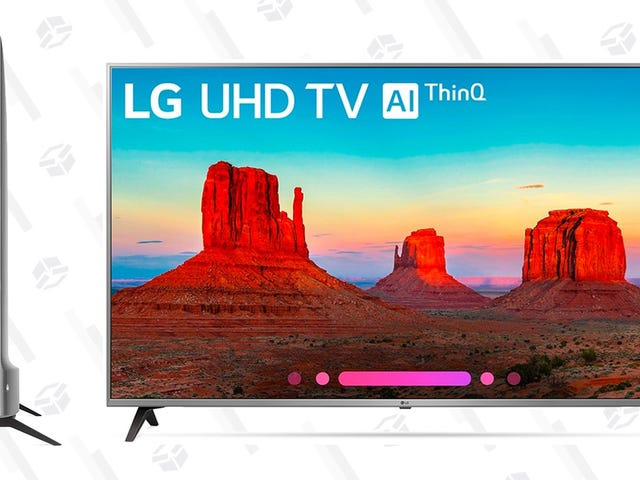 "Save $200 On This Super Thin 55"" LG 4K Smart TV"