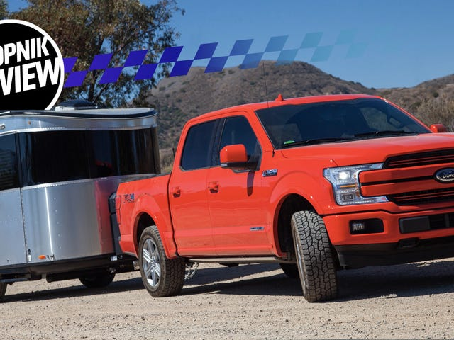 Un Ford F-150 Diesel 2018 tirant un camp de base Airstream est la meilleure version de 'Camping'
