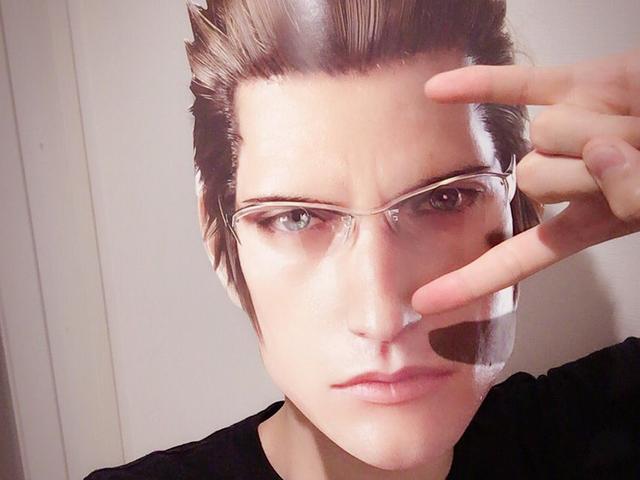 <i>Final Fantasy XV</i> Masks Make Everyone Handsome