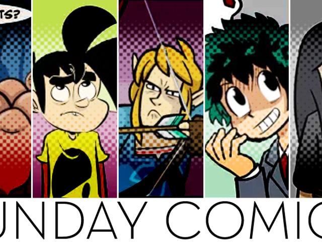 Sunday Comics: Horrific Slime Farms