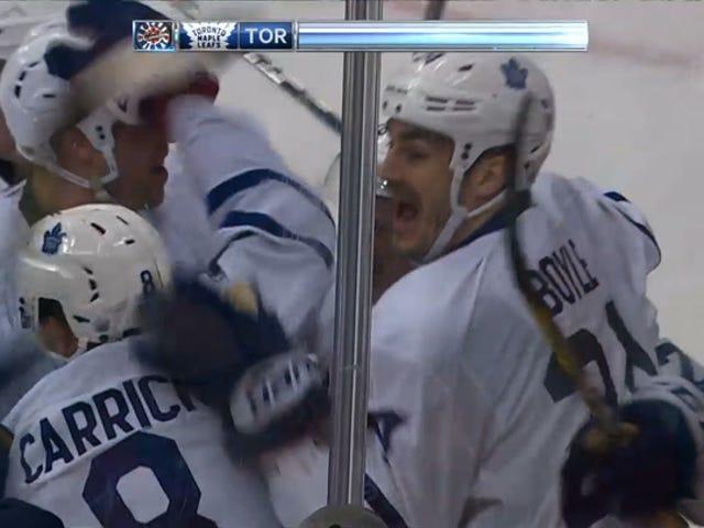 Leafs Draw Series même avec double-OT victoire sur Capitals