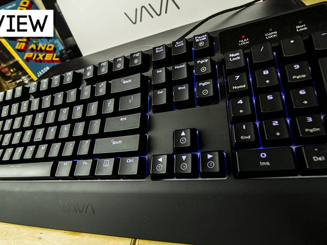 Vava Mechanical Gaming Keyboard Review: Not Bad For A Budget Board