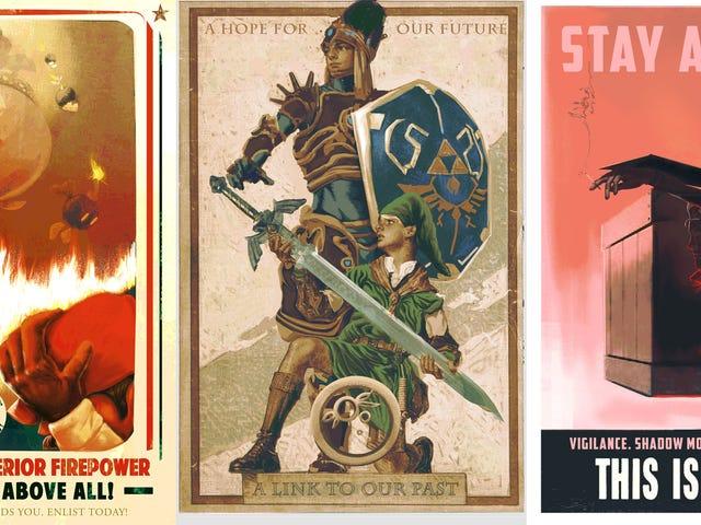 Video Game Propaganda Posters Are Winning The War