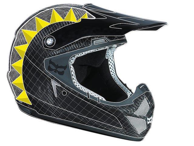Le casque intégral le plus léger jamais conçu apporte la sécurité de la moto aux vélos