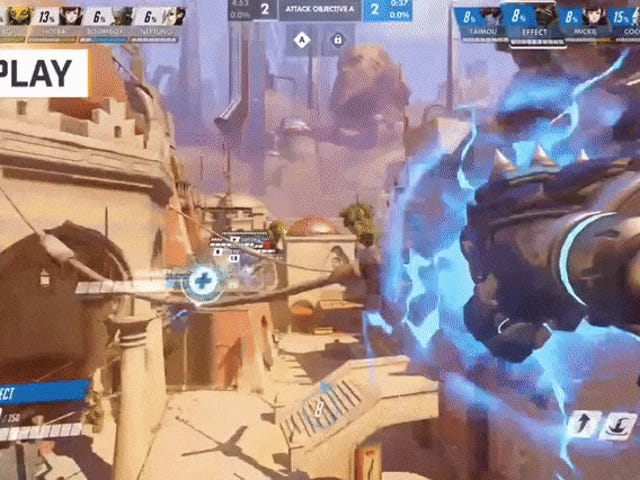<i>Overwatch</i> League's Dallas Fuel, In A Single Play