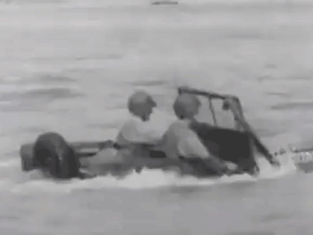 Here's The Fascinating Way The U.S. Military Waterproofed Its Jeeps During World War II