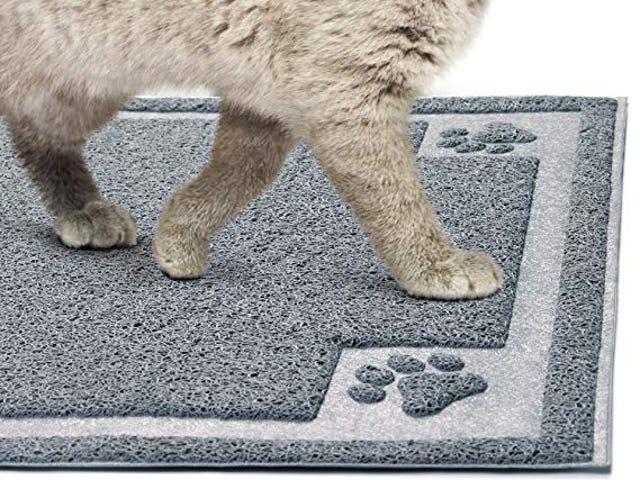50% Off GeekDigg Cat Litter Mat on Amazon