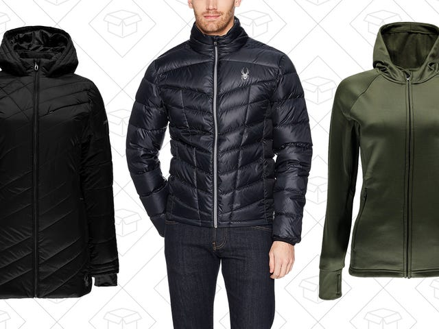 Layer Up With This One-Day Sale on Spyder Winter Gear